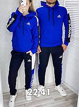 Костюм теплый мужской и женской синий