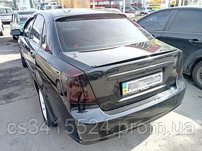 Спойлер Chevrolet Lacetti Лип низкий (Стекловолокно)
