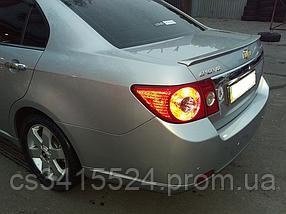Спойлер Chevrolet Epica 2006-2012 Лип (Стекловолокно)