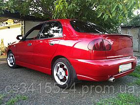Спойлер Chevrolet Lanos Лип (Стекловолокно)