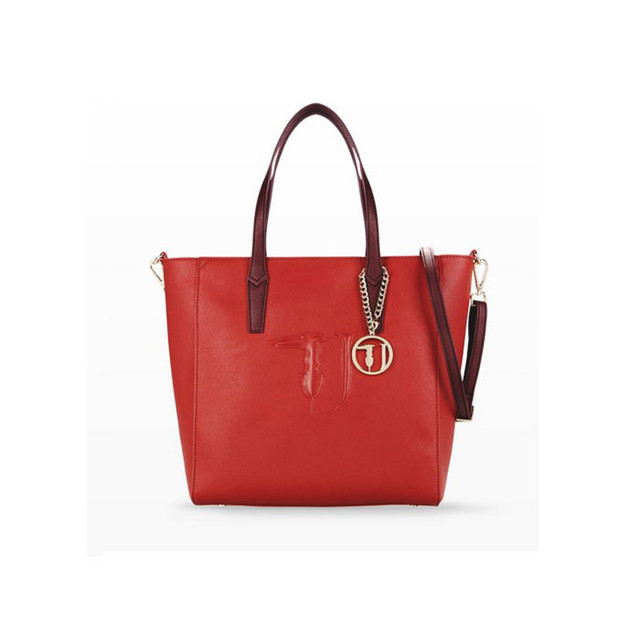 Trussardi Jeans Bag red