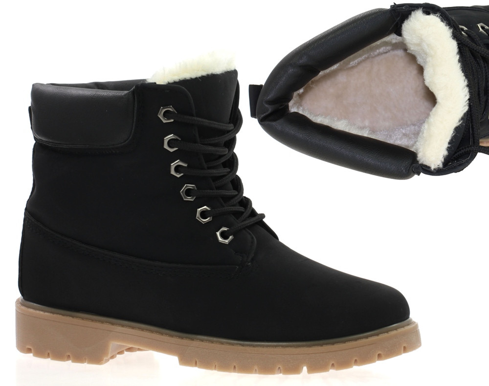 Женские ботинки ZACH BLACK