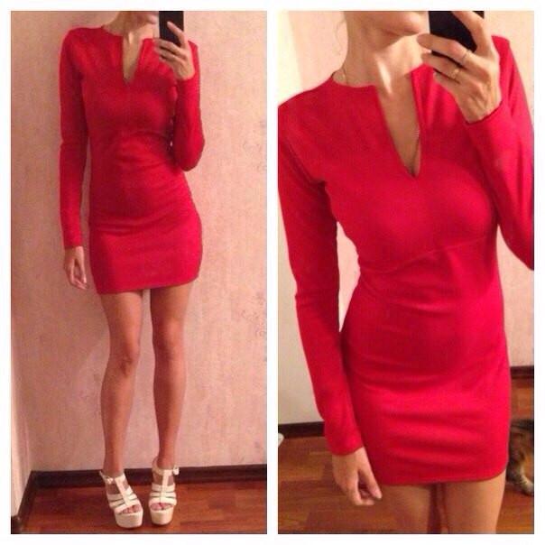 Купить платье с вырезом-каплей