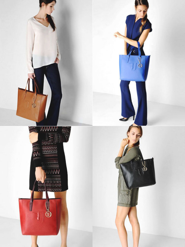 Trussardi Jeans Bag collection preview