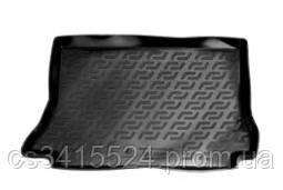 Коврик в багажник пластиковый для Daewoo Lanos (1997), Sens (2000) хечбэк (Lada Locker)