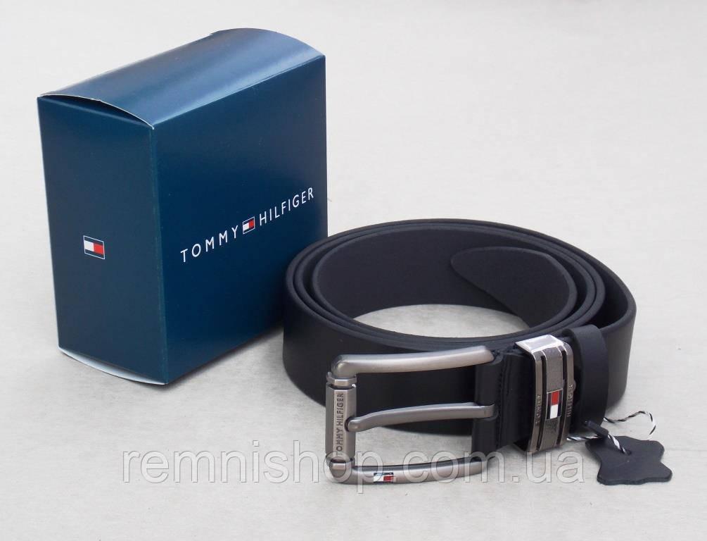 Мужской кожаный ремень Томму + коробка