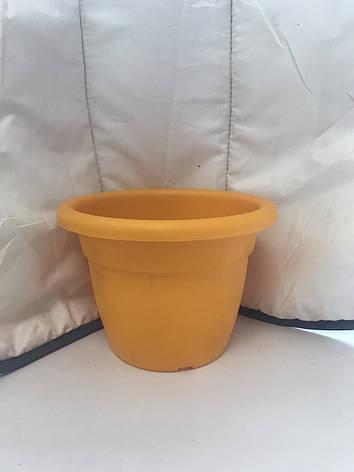 Вазон Антик 15 1,7 л жёлтый, фото 2