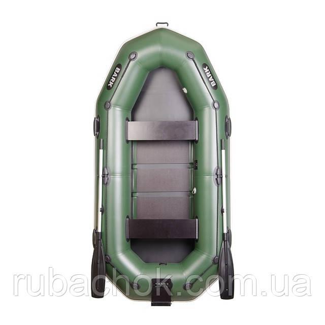 Трехместная гребная надувная лодка Bark (Барк) В-280NР (с навесным транцем)