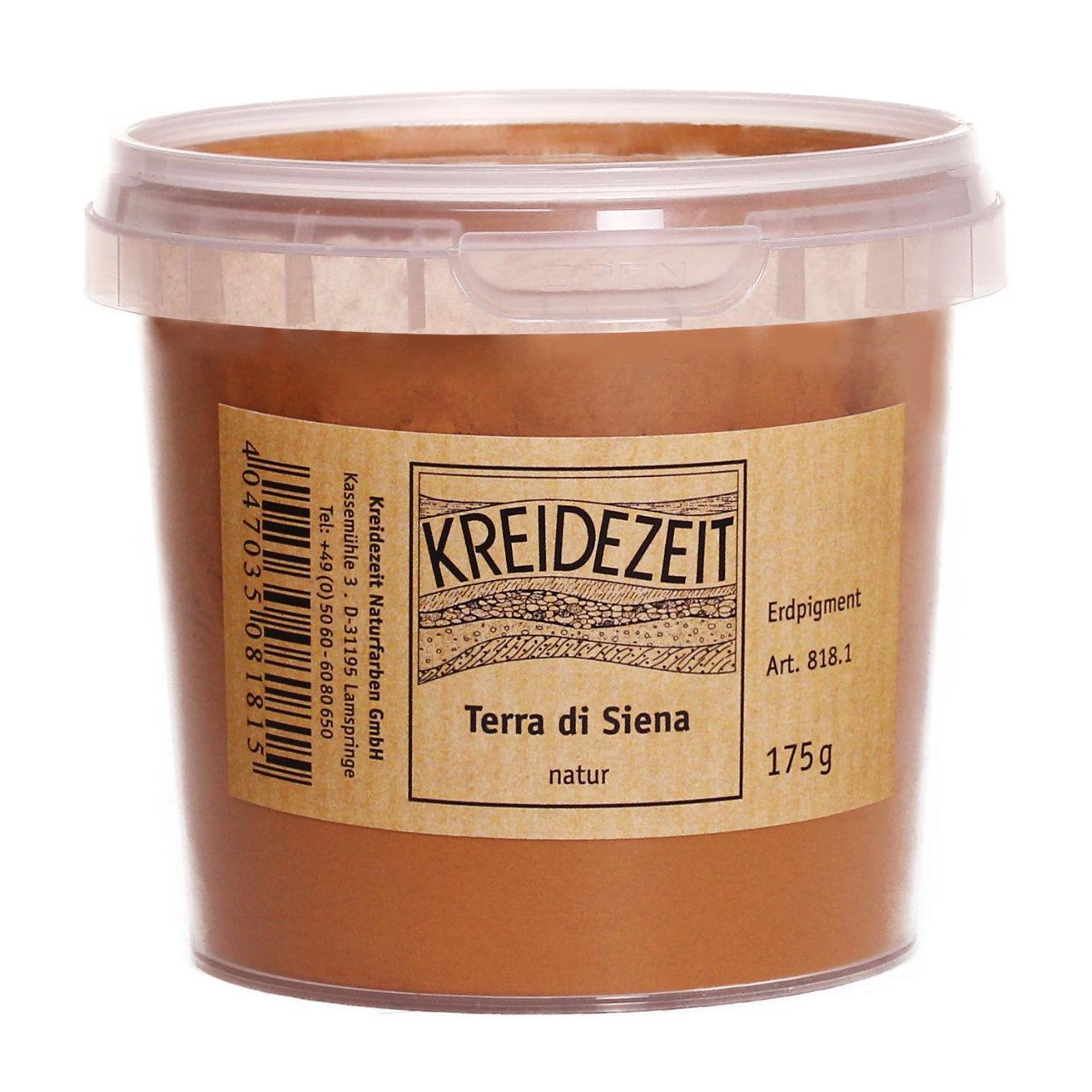 Натуральный пигмент, Желто-коричневый, Terra di Siena, Pigmente, Kreidezeit