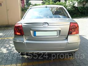 Спойлер Toyota Avensis 2003-2008 (Стекловолокно)