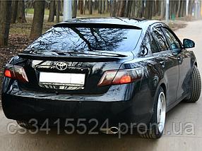 Спойлер Toyota Camry 40 2006-2011 Лип (Стекловолокно)