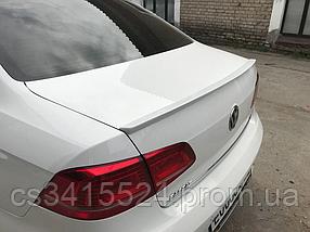 Спойлер Volkswagen Passat B7 2010-2015 Европа Лип (Стекловолокно)