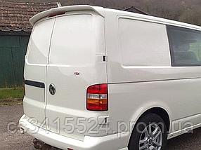 Спойлер Volkswagen Transporter T5 2003-2015 Распашной (Стекловолокно)