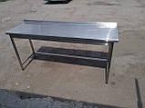 Стол с бортом производственный 2100х600х850, фото 5