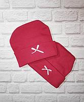 Детская шапка для новорожденных весна осень
