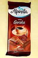Шоколад Alpinella черный 90 г, фото 1