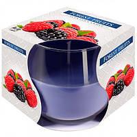 Свічка ароматизована Bispol 71-13 Лісові ягоди 7 см