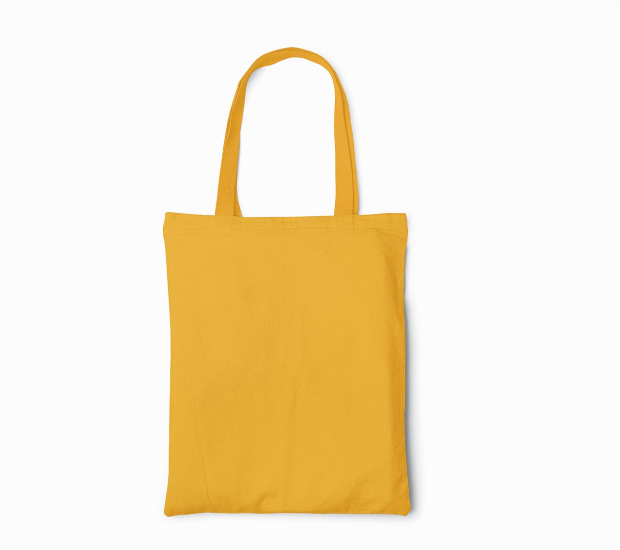 Пляжная сумка/Промо сумка (габардин) для печати цвет ОРАНЖЕВЫЙ