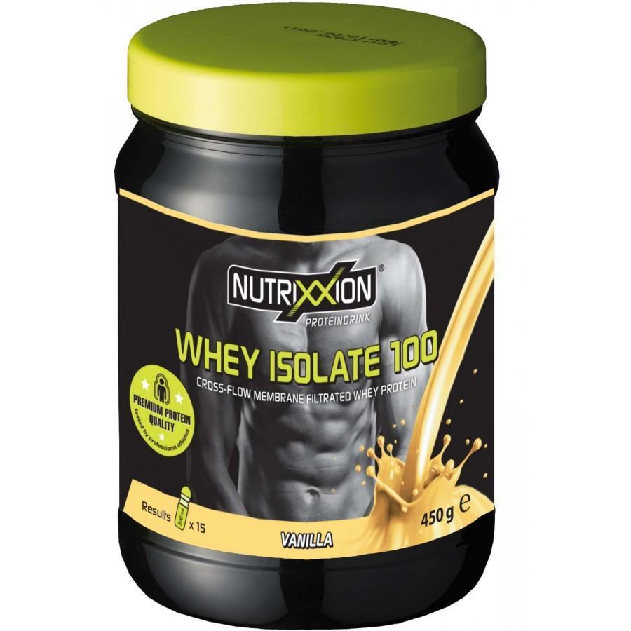 Протеин Nutrixxion Whey Isolate 100, Vanilla 450 g (15 порцій х 300 мл)