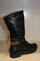 Сапоги кожаные женские 36-41 р от производителя