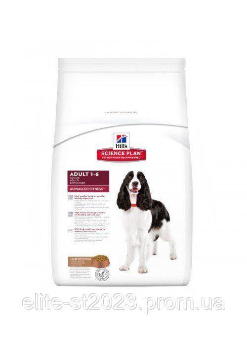 Hills (Хілс) Canine Adult Fitness Lamb & Rice Medium для дорослих собак середніх порід (ягня та рис) 3 кг