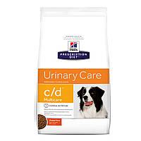 Hills Prescription Diet Canine c/d Лечебный сухой корм для собак / 12 кг