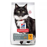 Hills Science Plan Sterilised Cat Mature Adult 7+ Сухой корм для стерилизованных кошек 7 лет и старше с курицей / 3 кг