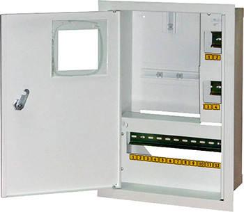 Корпус e.mbox.stand.w.f1.16.z.e металевий, під 1-ф електронний лічильник, 16 мод, фото 2