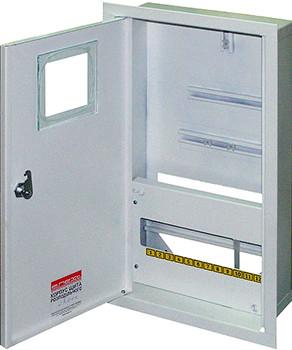 Корпус e.mbox.stand.w.f3.12.z.e металевий, під 3-ф. електронний лічильник, 12 мо