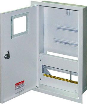 Корпус e.mbox.stand.w.f3.12.z.e металевий, під 3-ф. електронний лічильник, 12 мо, фото 2