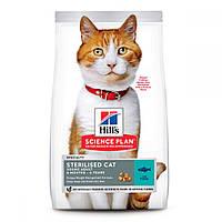 Hills Science Plan Sterilised Cat Young Adult Tuna Сухой корм для стерилизованных кошек с тунцом / 10 кг