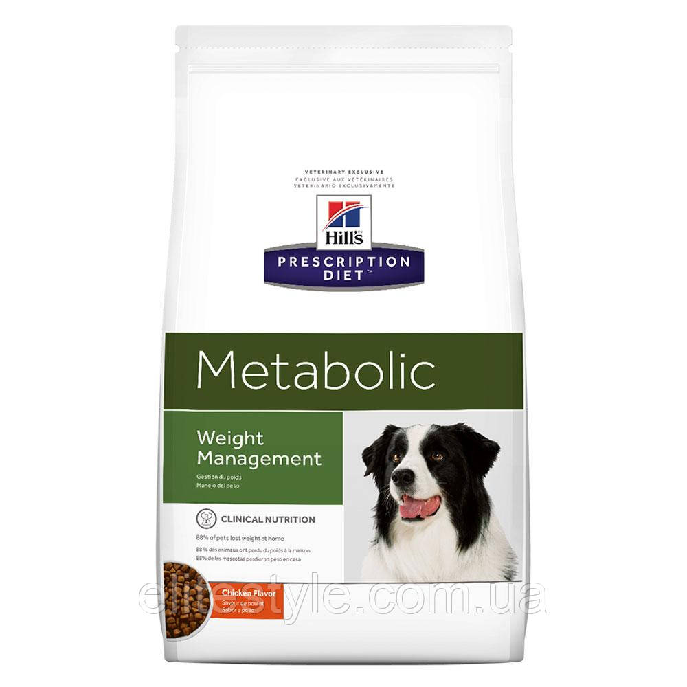 Hills Prescription Diet Canine Metabolic Лечебный сухой корм для собак / 12 кг