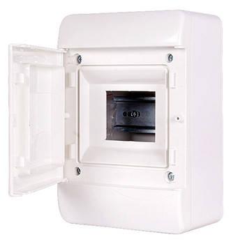Корпус пластиковий, навісній (NT) 5-модульний, однорядний, IP 40, з непрозорими, фото 2