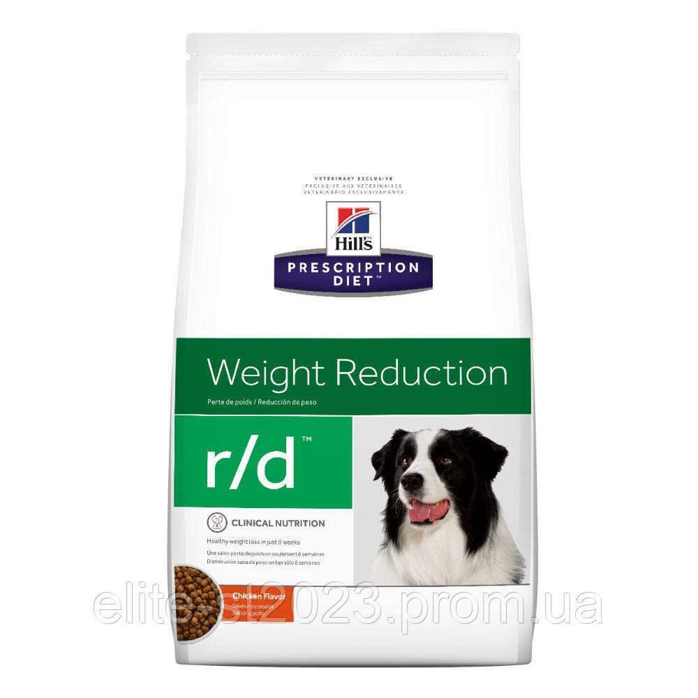 Hills Prescription Diet Canine r/d Лечебный сухой корм для собак / 12 кг