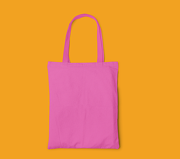 Пляжна сумка/Промо сумка (габардин) для друку колір РОЖЕВИЙ