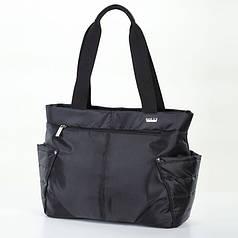 Женская сумка на плечо черная тканевая модная Dolly 471