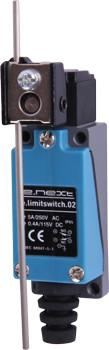 Вимикач кінцевий e.limitswitch.02 важіль регульований по довжині