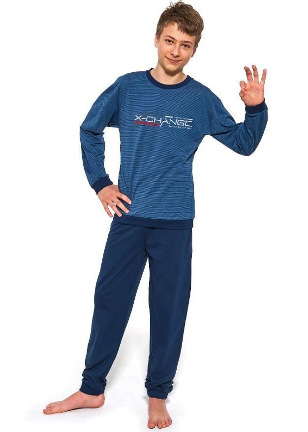 Пижама подростковая, для мальчика. Польша. Cornette 989/37  Street wear