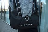 Рюкзак Under Armour Storm Original Silver, фото 4