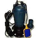 Фекальный насос с измельчителем + ШЛАНГ 50мм FORWATER 1,1 (гарантия 3 года) + шланг 10м GR, фото 2