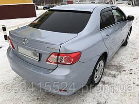Козырек заднего стекла Toyota Corolla 2007-2012 Бленда (под покраску)