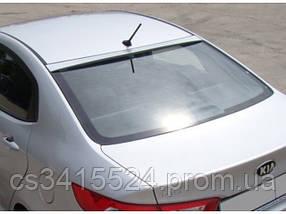 Козырек заднего стекла Kia Rio III седан 2011 (на скотче 3М)