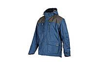 Рабочая куртка-парка утепленная Nottingham 3 S-3XL синяя 30162, фото 1