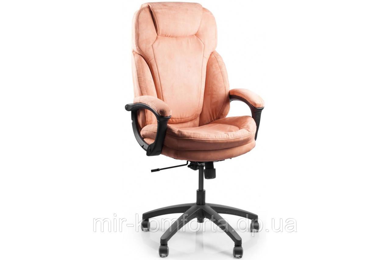 Офісне масажне крісло Barsky SOFT персиковий