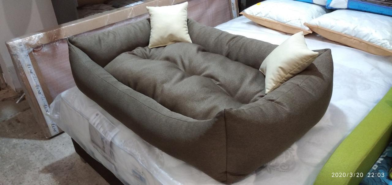 Теплый Диван лежанка Premium для больших собак всех  130 х 90 см. Лежанка, Лежаки, лежак, лежак для собак