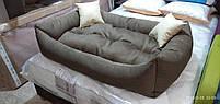 Теплый Диван лежанка Premium для больших собак всех  130 х 90 см. Лежанка, Лежаки, лежак, лежак для собак, фото 5