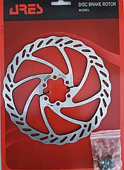 Ротор тормозной велосипедный Ares SM18, 180 mm.