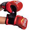 Перчатки для ММА Эверласт для единоборств профессиональные гибридные EVERLAST Красный (BO-4612-R) S