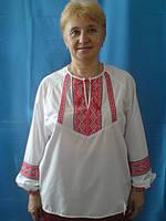 Вишиванка женская с декоративной вставкой