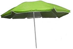 Зонт пляжний d1.8м Stenson MH-2686, зелений
